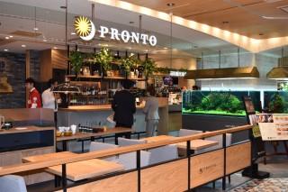 ②「カフェ&バー プロント」と「浦和観光案内所」のコラボレーション。店内に「ネイチャーアトリウム」を設置